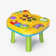 インタラクティブな子供用テーブル 3d model