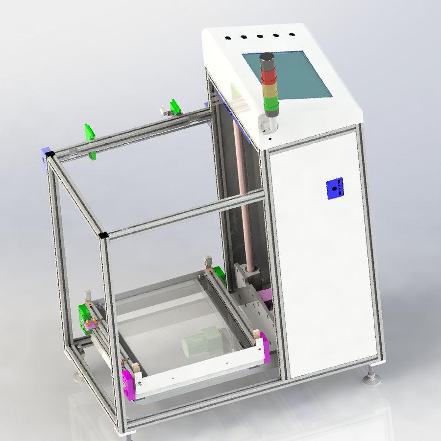 Asansör konveyörü royalty-free 3d model - Preview no. 1