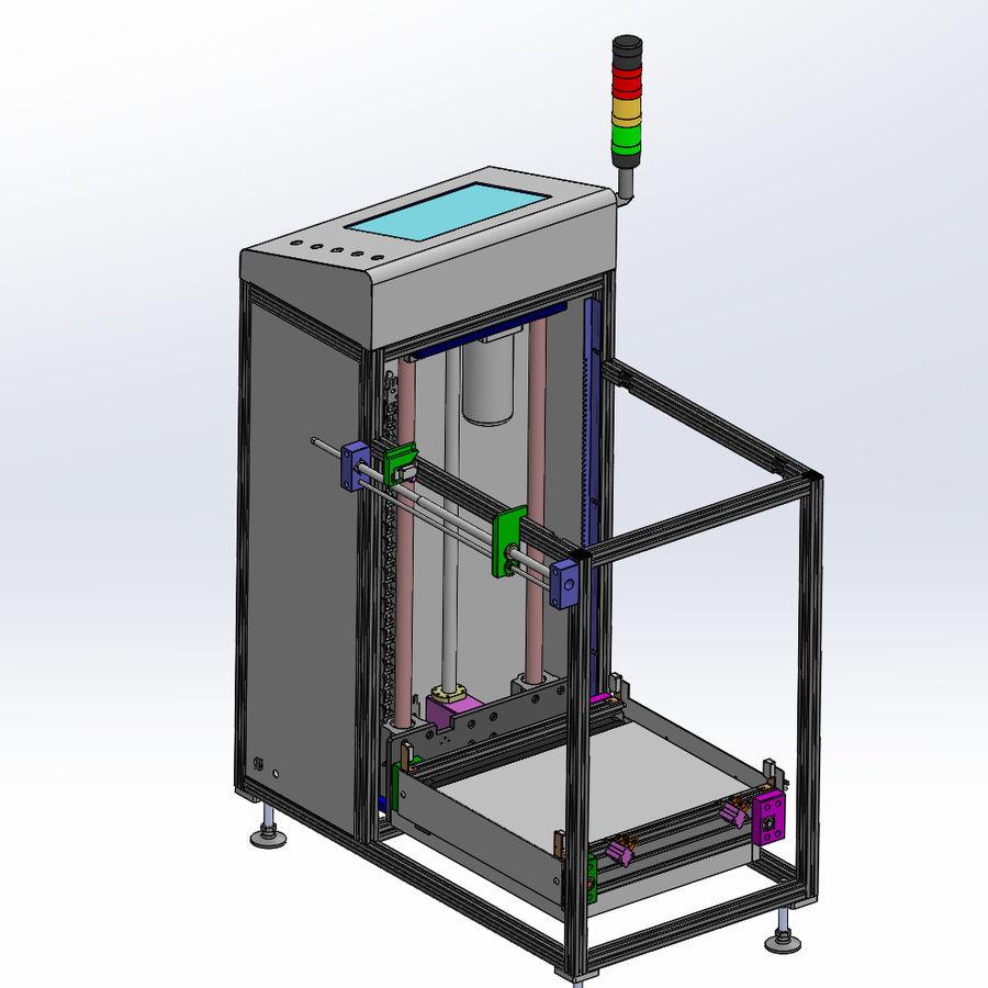 Asansör konveyörü royalty-free 3d model - Preview no. 9