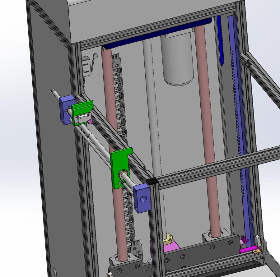 Asansör konveyörü royalty-free 3d model - Preview no. 5