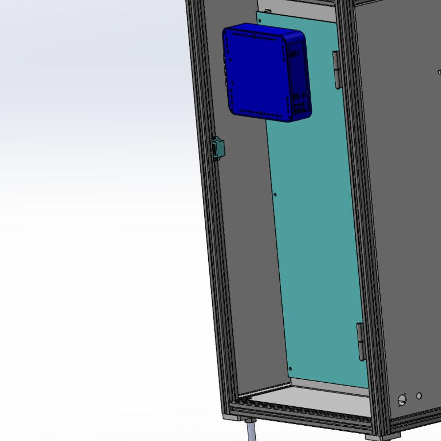 Asansör konveyörü royalty-free 3d model - Preview no. 4