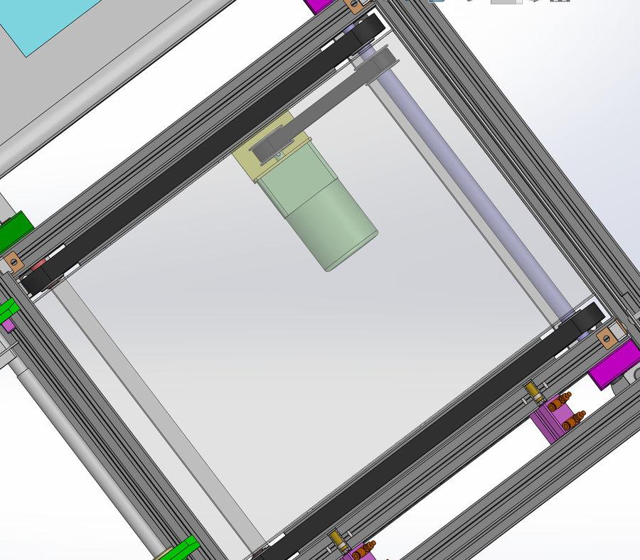 Asansör konveyörü royalty-free 3d model - Preview no. 6