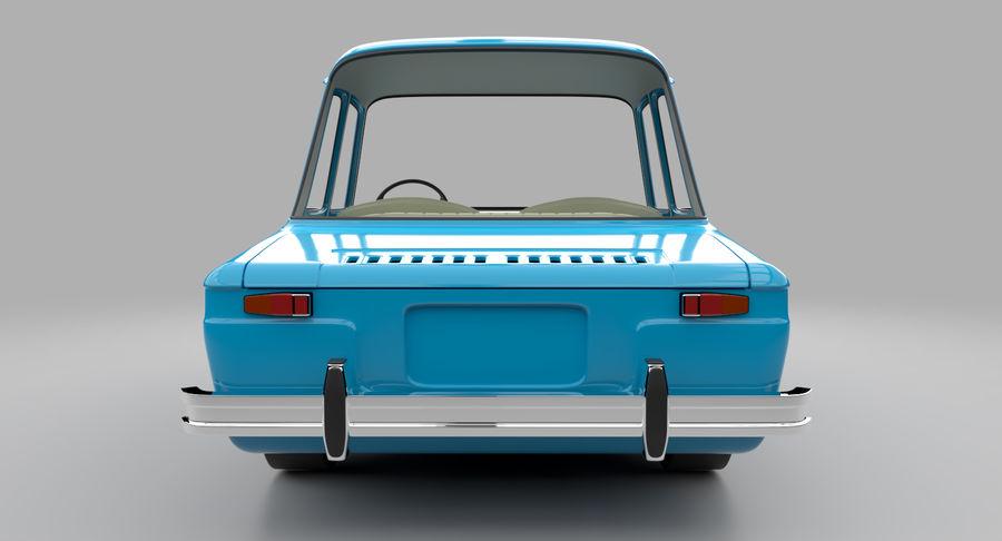 漫画車 royalty-free 3d model - Preview no. 9