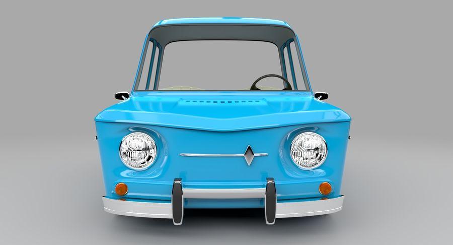 漫画車 royalty-free 3d model - Preview no. 3