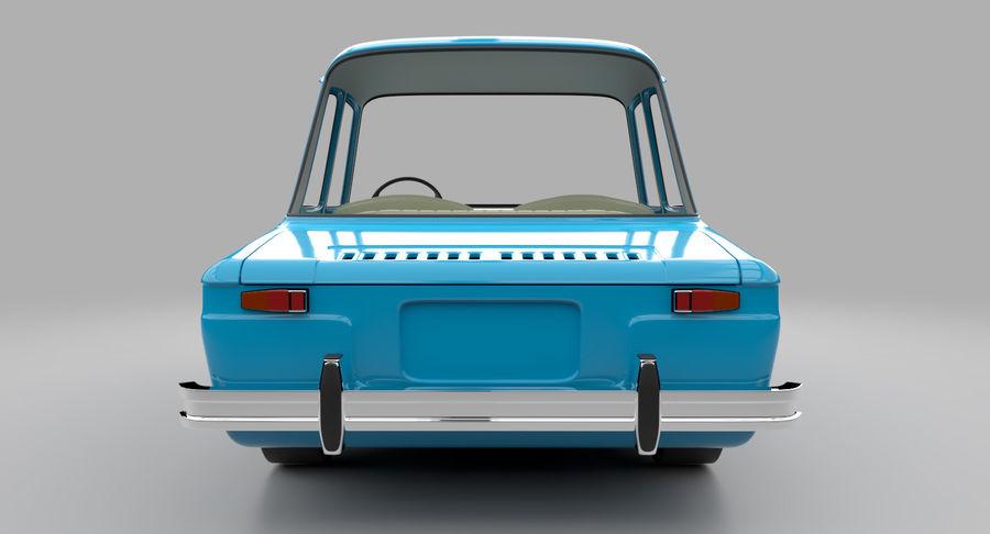 Çizgi Araba royalty-free 3d model - Preview no. 9