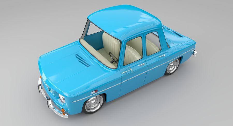 漫画車 royalty-free 3d model - Preview no. 7