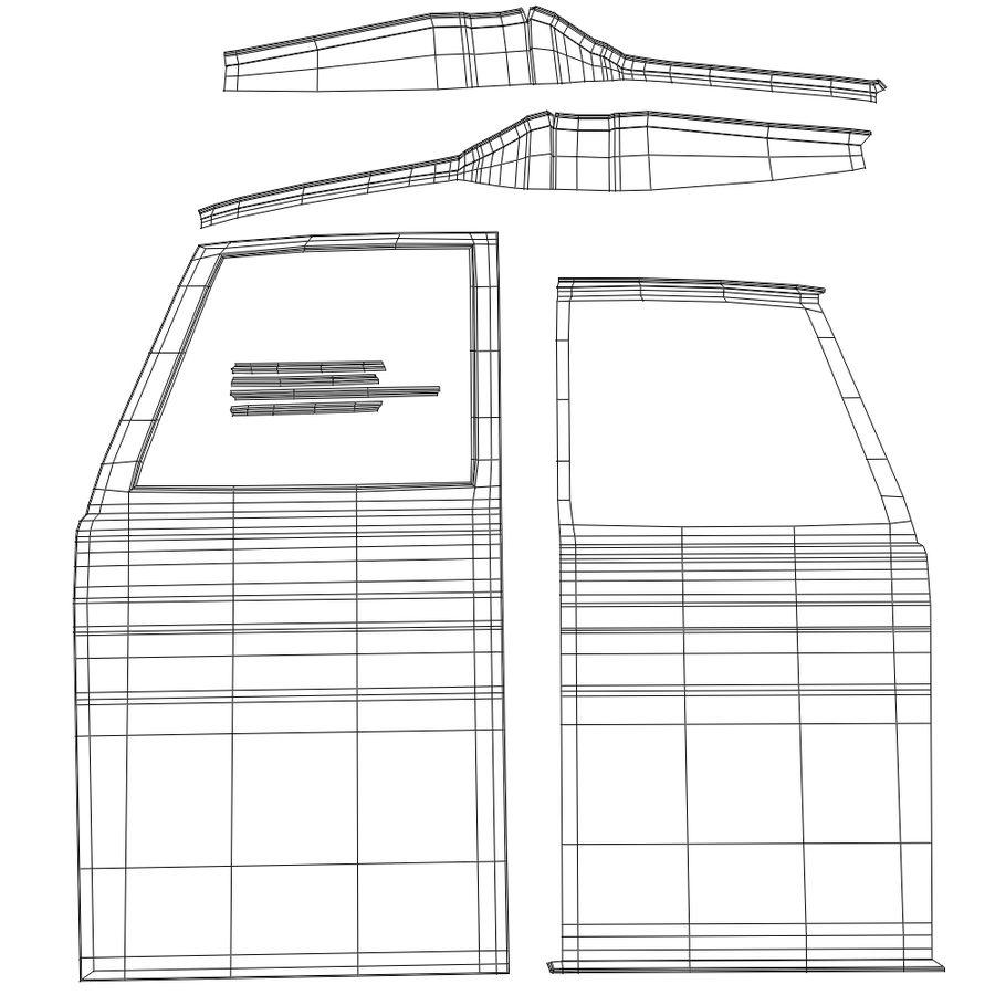 Çizgi Araba royalty-free 3d model - Preview no. 15