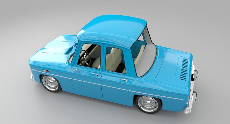 漫画車 royalty-free 3d model - Preview no. 8