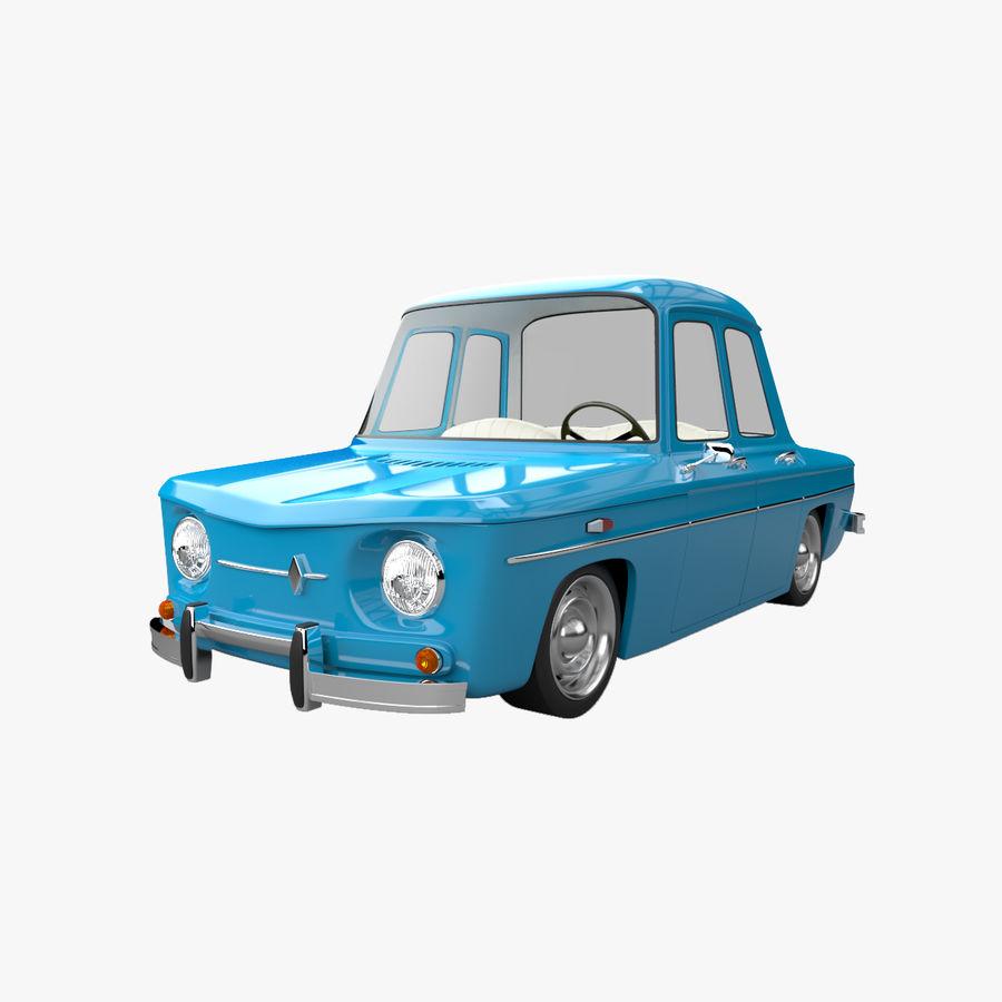 漫画車 royalty-free 3d model - Preview no. 1