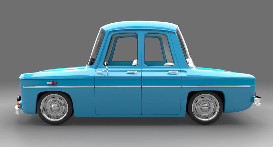 漫画車 royalty-free 3d model - Preview no. 4