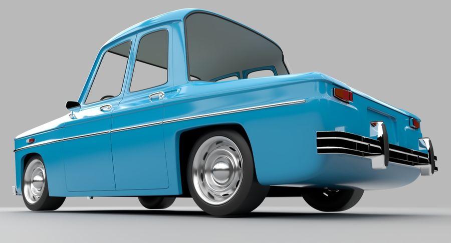 漫画車 royalty-free 3d model - Preview no. 5