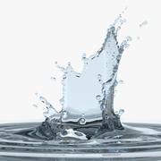 Water Splash 00 3d model