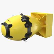 デブマン核爆弾イエロー 3d model