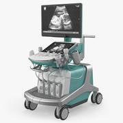 Ultrasound Machine Generic Rigged 3D Model 3d model