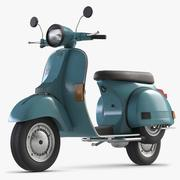 Bike Vespa LML 3d model