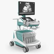 Ultrasound Scanner System Generic 3D Model 3d model