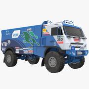 Race Truck 3d model