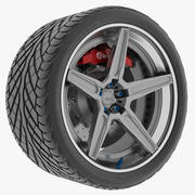 Wheel 5 Track Spec modelo 3d
