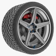 Wheel 5 Track Spec 3d model