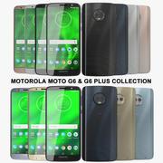 Motorola Moto G6 및 G6 Plus 컬렉션 3d model