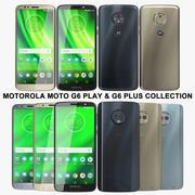 Motorola Moto G6 Play & G6 Plus 컬렉션 3d model