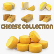 Cheese 3D Modelsコレクション 3d model