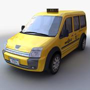 LOW POLY Taxi (ALGEMEEN) 3d model