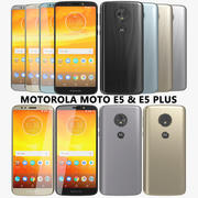Motorola Moto E5 및 E5 Plus 컬렉션 3d model