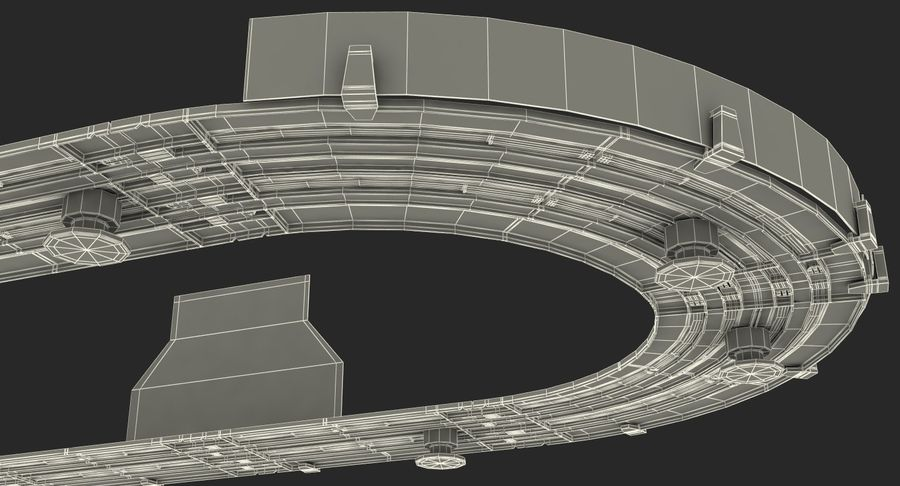 Toy Racing Car Track Generic royalty-free 3d model - Preview no. 29