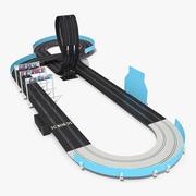 Трек Гоночный Автомобиль Трек Generic 3d model