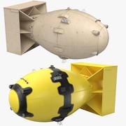 デブマン核爆弾コレクション 3d model