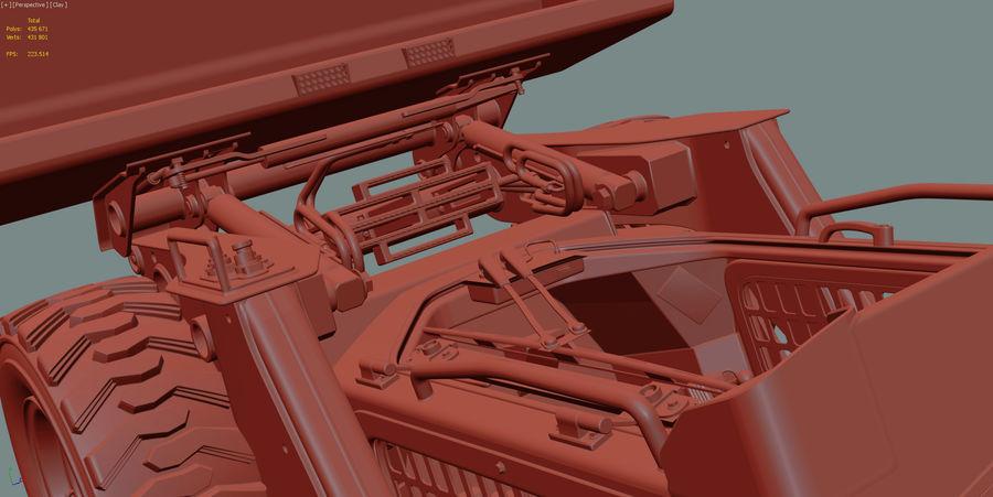 建設機械 royalty-free 3d model - Preview no. 23
