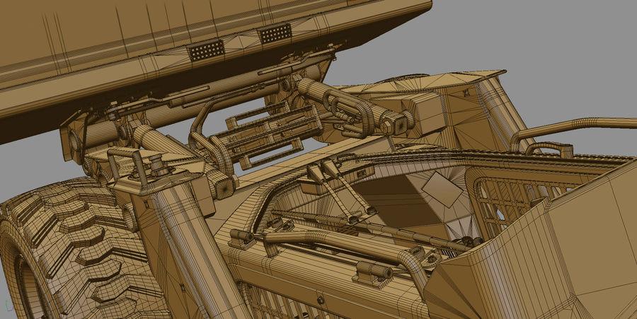 建設機械 royalty-free 3d model - Preview no. 24