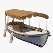 Duffy Recreational Boat 3d model