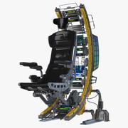 Silla futurista modelo 3d