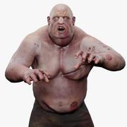 Zombie (1) 3d model