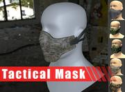 Máscara táctica modelo 3d