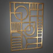Wall Art (Art Deco) - Jogo pronto para PBR 3d model