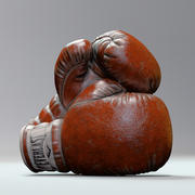 Everlast Realistic Boxing Gloves 3d model