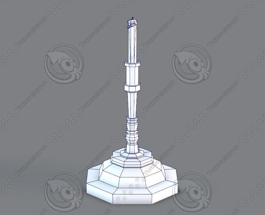 Juego de muebles para juego royalty-free modelo 3d - Preview no. 37