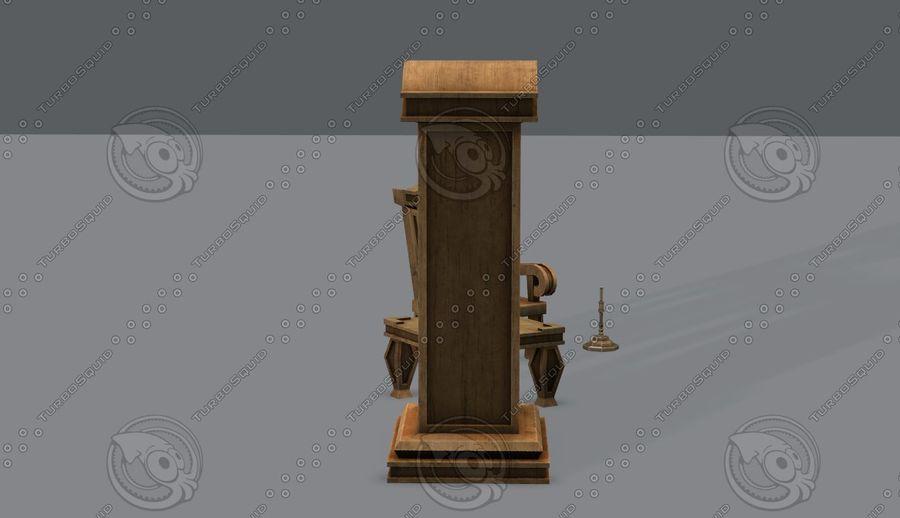 Juego de muebles para juego royalty-free modelo 3d - Preview no. 6