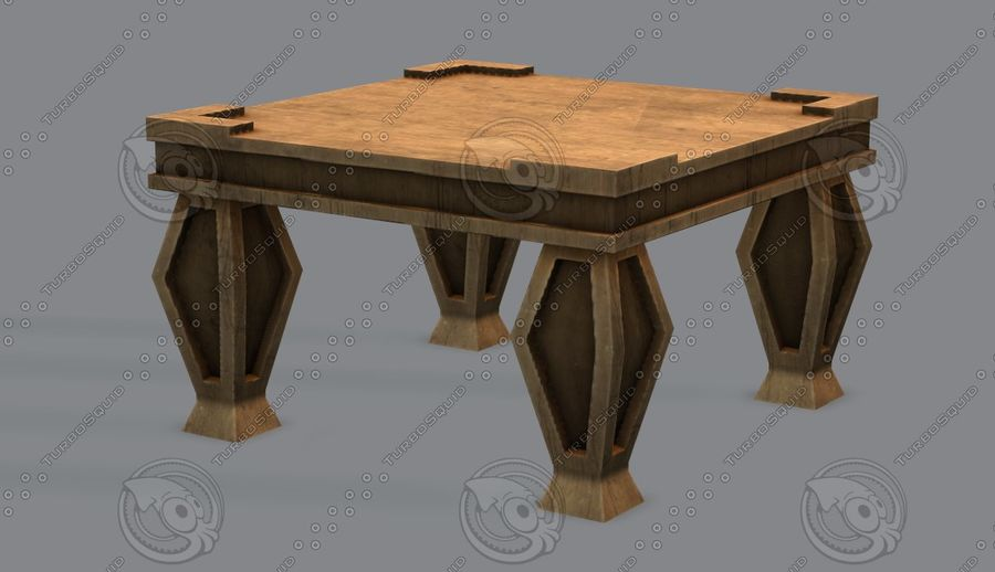 Juego de muebles para juego royalty-free modelo 3d - Preview no. 34