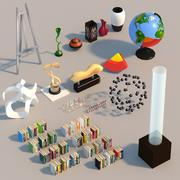 Предметы интерьера и декор 3d model