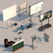 Collection of appliances 3d model