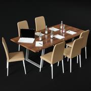 Büromöbel für Tagungsräume 3d model
