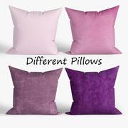 Decorative pillows 3d model