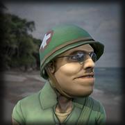 Soldier Medic 3d model