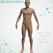 베이스 메쉬 수컷 3d model