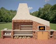 Barbecue collection 3d model