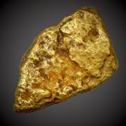 Gold Nugget - PBR Game-Ready 3d model